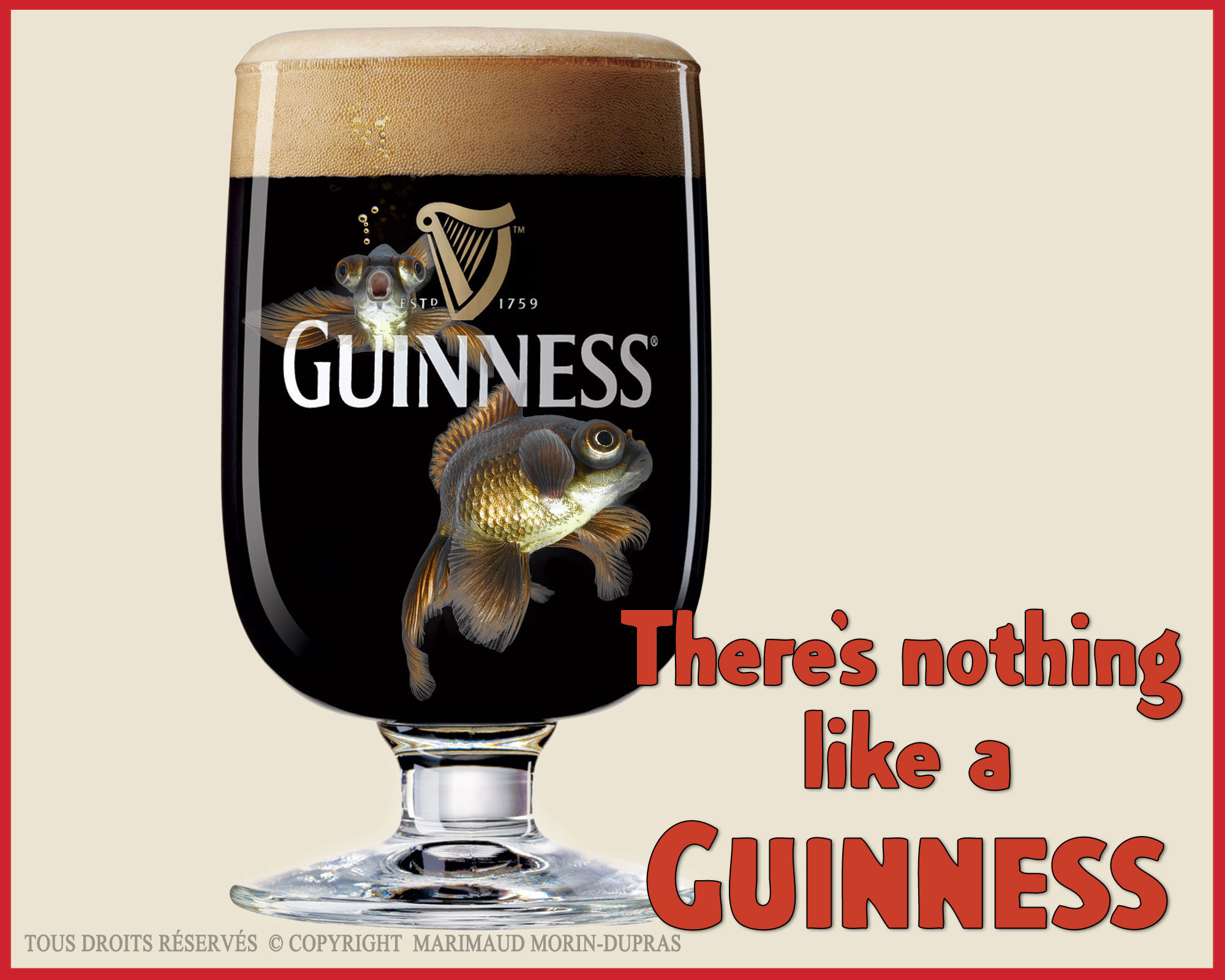 There's nothing like a Guinness Traitement numérique de l'image 2014